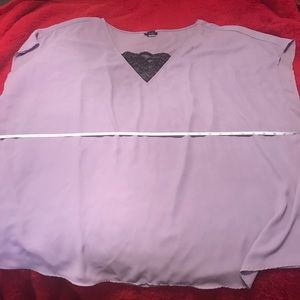 torrid Tops - TORRID SIZE 5 NEW WITHOUT TAGS PURPLE TOP